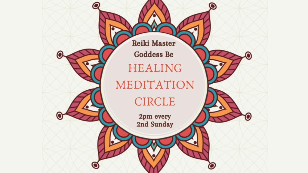 Healing Energy Circle & Meditation @ Meditation Garden