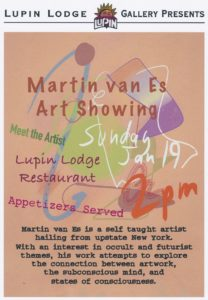 Art Reception & Gallery Opening @ Lupin Lodge Restaurant