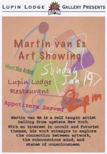 Art Reception & Gallery Opening @ Lupin Lodge Restaurant