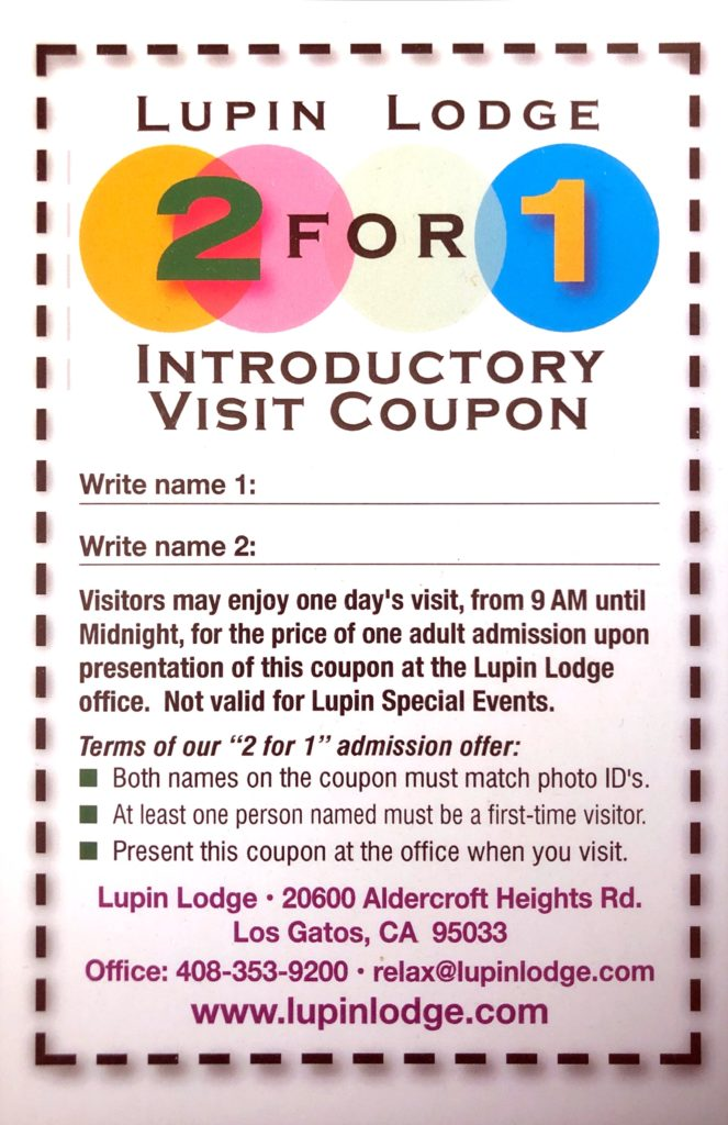 2-for-1 Day Fee Promotion