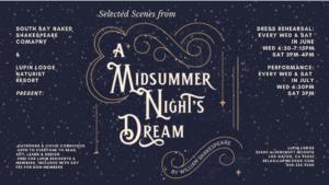 A Midsummer Night's Dream @ Lupin Lodge