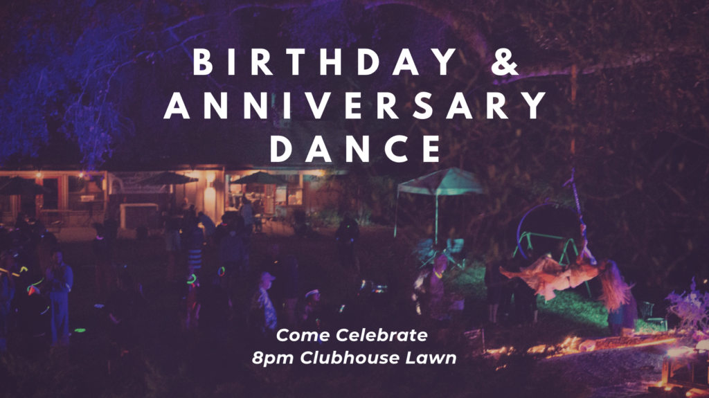 Birthday & Anniversary Dance @ Nourish Lawn