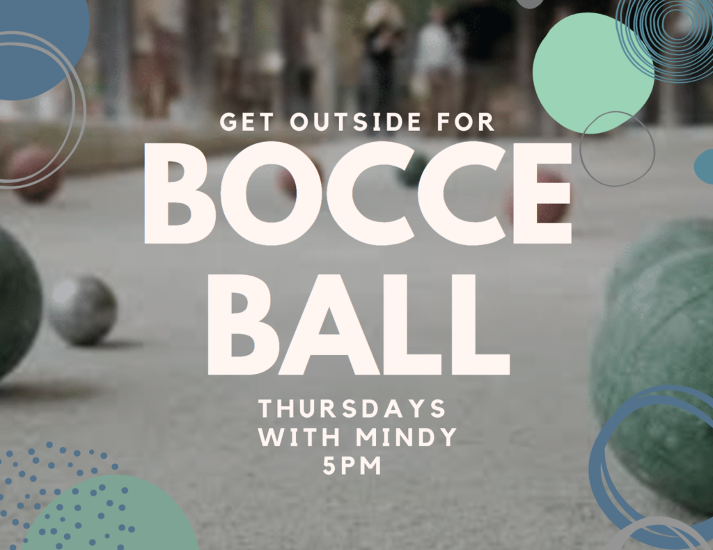 Bocce Ball @ Clubhouse Lawn