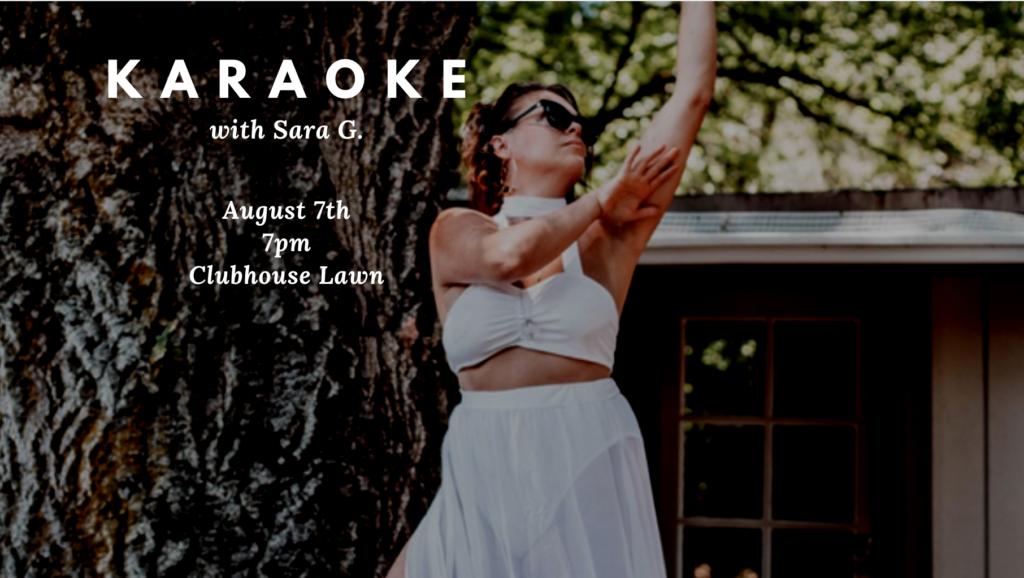 Karaoke @ Clubhouse Lawn
