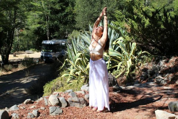 Yoga at Lupin Lodge with Michelle